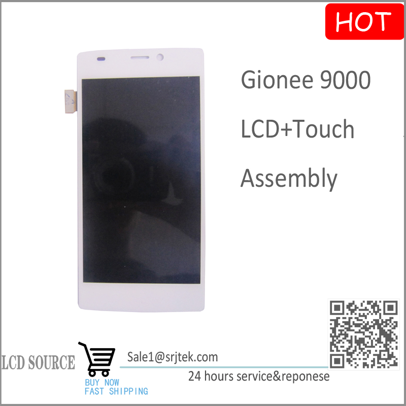 5.5 for Gionee 9000 LCD Display With Touch Screen Digitizer Assembly White Color Replacement Parts High Quality