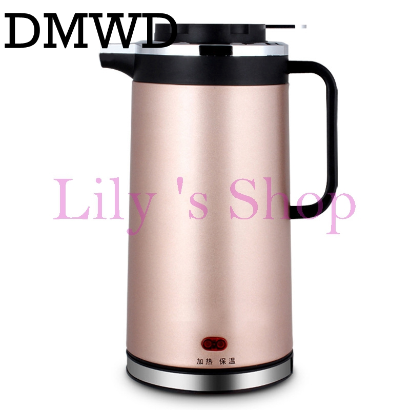 DMWD 2L Split Style Stainless Steel Quick Heating Auto-off Electric Kettle hot water heating tea pot teapot boiler EU US plug stainless steel electric teapot 1 2l 800w chinese electric tea kettle electric kettle tea pot automatic teapot eu us plug