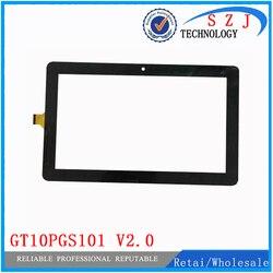 Новый 10,1 ''дюймовый GT10PGS101 V2.0 совместимый Trekstor SurfTab ST10408-9 3G емкостный сенсорный экран панель Бесплатная доставка