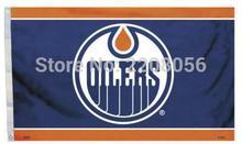Edmonton Oilers Flag 3ft x 5ft Polyester NHL Banner Edmonton Oilers Flying Size No.4 144* 96cm Custom flag