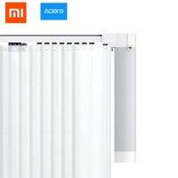 2018 Xiaomi Mijia Aqara curtain motor rails Zigbee wifi version work with mi home app for xiaomi smart home silent curtain track