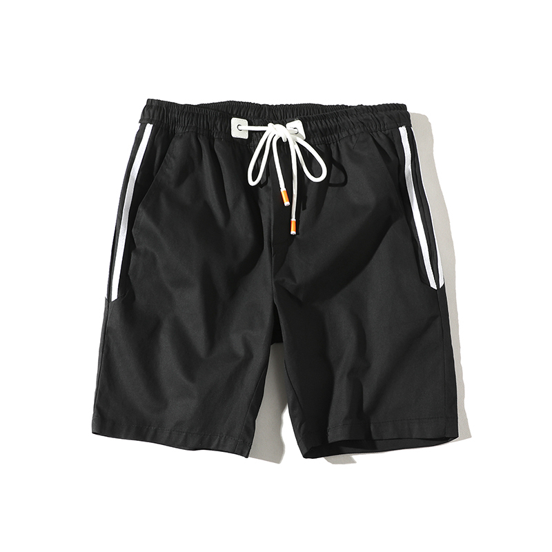 Leisure Time Shorts Man Self-cultivation Pure Cotton Summer Sandy Beach Male Fivepence Pants Tide Favourite Free shipping