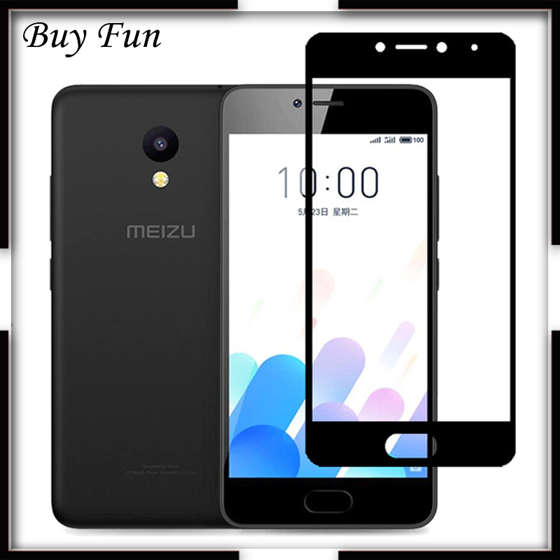 For Meizu M5C M710H Full Cover Tempered Glass For Meizu M 5 C M5 5c A5 Screen Protector Protective Glas Film On Maisie Protect