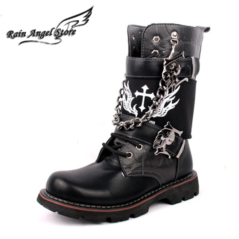 Popular Cool Leather Boots for Men-Buy Cheap Cool Leather Boots ...