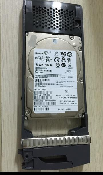 3 years warranty  100%New and original   DS2246 X423A-R5 900GB 10K SAS 6Gb 2.5inch 108-00222