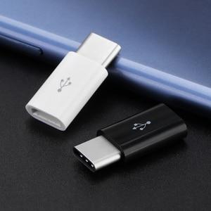 Image 3 - 3 יח\חבילה USB מתאם USB סוג C למייקרו USB OTG כבל סוג C ממיר מחבר עבור Macbook סמסונג s9 S8 Huawei P20 P10