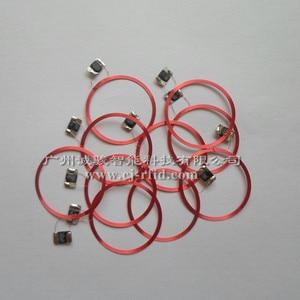 Image 1 - Antenas de bobina de etiqueta, 10 Uds., 13,56 MHZ, chip IC RFID pasivo + material de núcleo de bobina S50