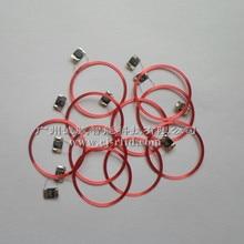 Novo 10 pces 13.56 mhz tag antenas de bobina passiva rfid ic chip + bobina núcleo material s50