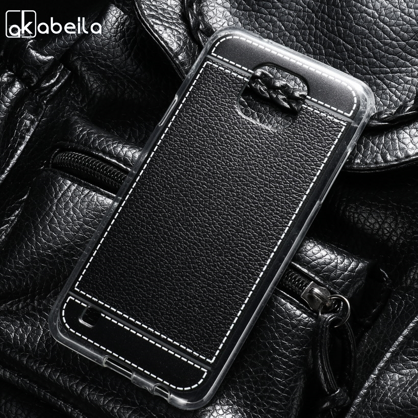 AKABEILA Silicone Phone Cover Case For LG X Cam F650 K580 K580Y X-cam K580 K580DS 5.2 inch Case TPU Lichee Cover Bag