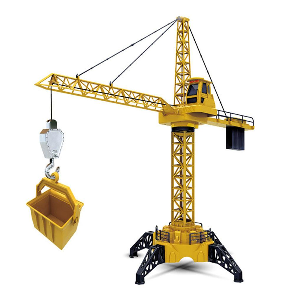 Eighty Heavy Industry Remote Control Tower Crane 1.28 Meter Large Tower Crane Model Non-engineering Vehicle 678 for Boy ToysEighty Heavy Industry Remote Control Tower Crane 1.28 Meter Large Tower Crane Model Non-engineering Vehicle 678 for Boy Toys