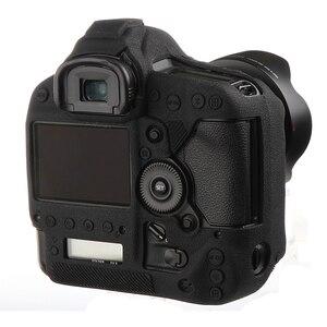 Image 1 - Высококачественный мягкий силиконовый резиновый защитный корпус для камеры чехол для Canon 1Dx 1DX II III 1DXII Защитная сумка для камеры