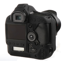 High Quality Soft Silicone Rubber Camera Protective Body Case Skin For Canon 1Dx 1DX II III 1DXII Camera Bag protector cover