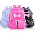 Kids Satchel butterfly Children School Bags For Girls Orthopedic Waterproof Pu Leather Backpack Child School Bag Mochila Escolar