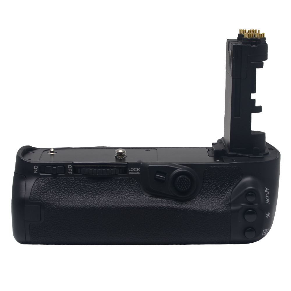 Meike MK-5D4 Vertical Battery Grip for Canon EOS 5D mark IV as BG-E20 Compatible Camera  works with LP-E6  or LP-E6N Battery mcoplus bg 7d vertical battery grip with 2pcs lp e6 batteries for canon eos 7d camera as bg e7 meike mk 7d