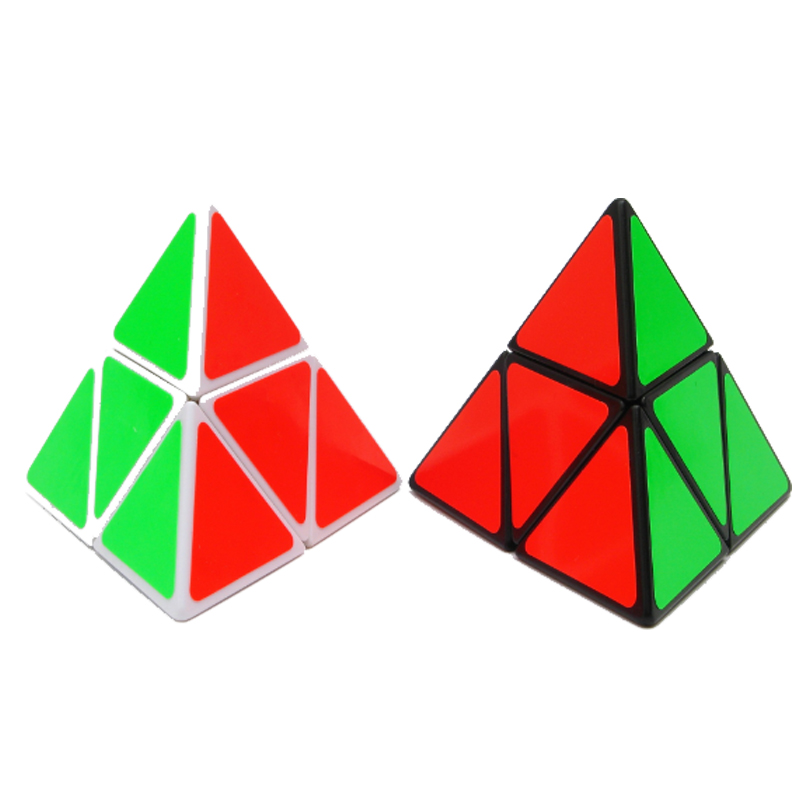 Professional Educational Learning Toys For Kids 2x2x2 Pyraminx Puzzle Speed Cube Fidget Magico Cubo 2 On 2 Pyraminx Speed Cube