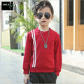 2017 Selling New Fashion Spring Autumn Teenage Striped T-Shirt Boy Kid Children Boys T Shirts Long Sleeve Baby Clothes Tops 5-15