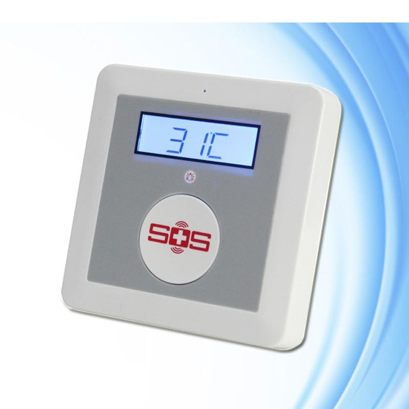 K3 GSM Alarm System, Home Security Alarm Safety SOS Alarm wireless smoke fire detector for wireless for touch keypad panel wifi gsm home security burglar voice alarm system