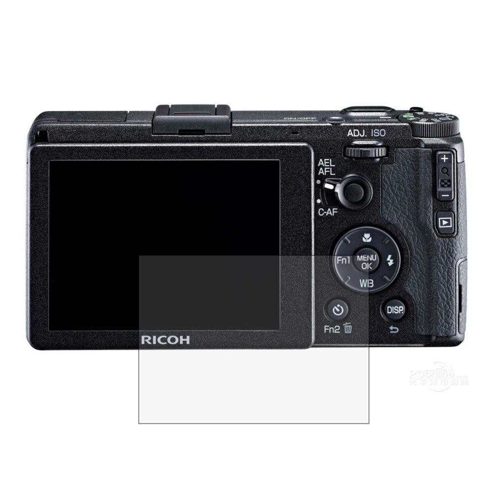 2pcs Anti-Scratch LCD Screen Protector Guard Shield Film for RICOH GR2 GR II Camera Accerrories