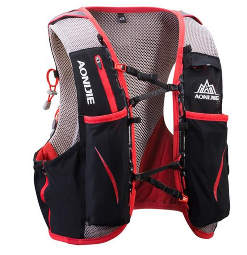 AONIJIE Sports 5LRunning Bag Backpack Hydration Bag Vest Harness Water Bladder Hiking Camping Running Marathon Race