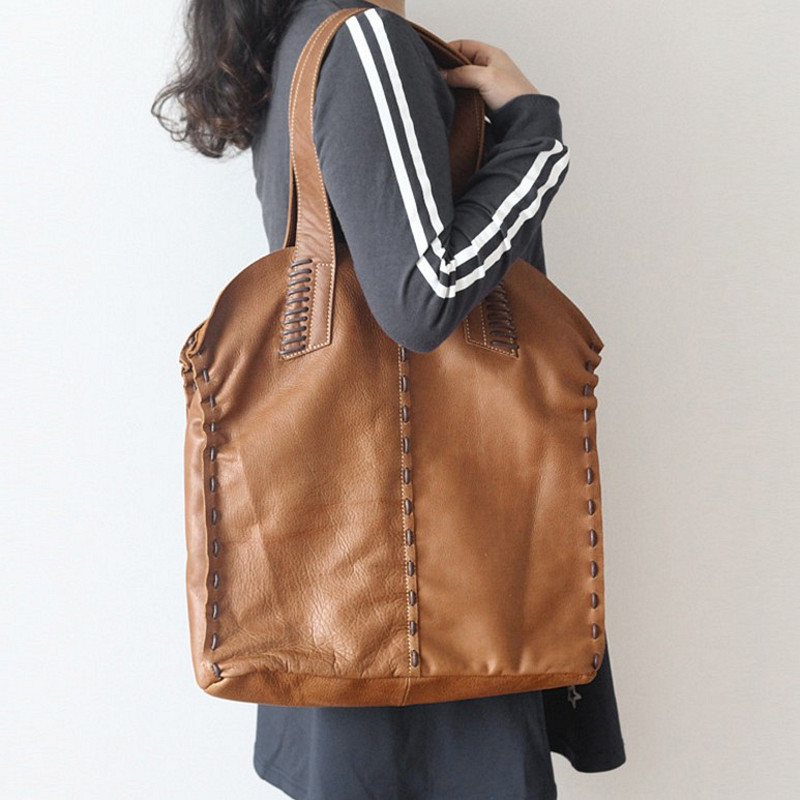 Vintage Design High Quality Genuine Leather Ladies Thick Leather Female One Shoulder Bag Women Composite Bag Casual Shoulder Bag велосипед bulls sharptail 24 street outer 21 spd 2017