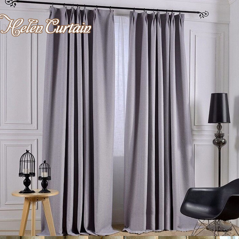 Buy helen curtain modern style linen for Hotel drapes for sale