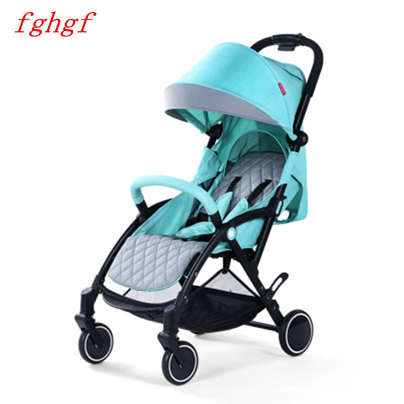 Baby stroller lightweight folding small can sit reclining simple umbrella portable trolley lacywear s 39 sit