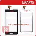 50pcs/lot Original For LG Optimus F3 P655 P659 Touch Screen Digitizer Outer Glass Lens Black White Free Shipping+Tracking code