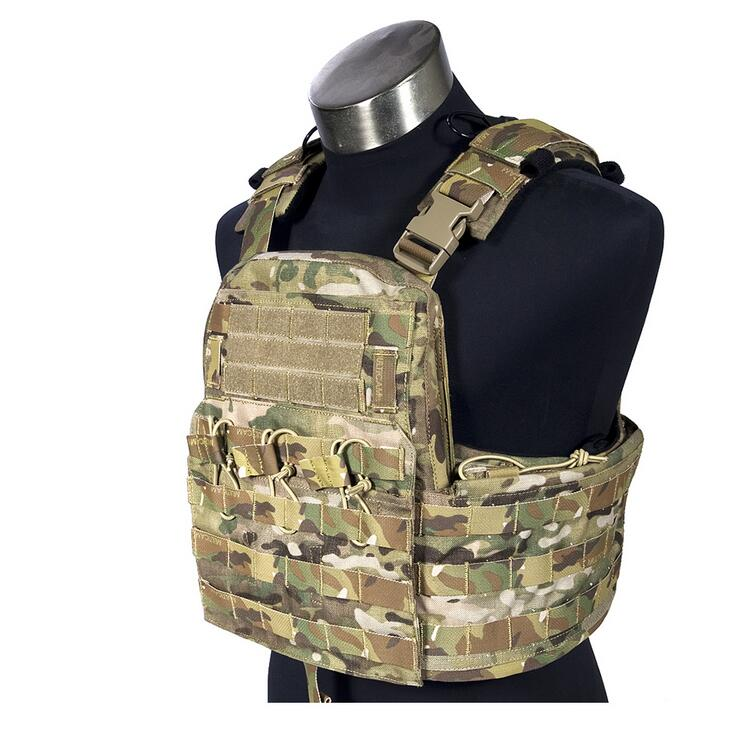 FLYYE  MOLLE Field Compact Plate Carrier  Military Tactical Vest VT-M031 in stock flyye genuine molle force recon vest military tactical vest vt m013