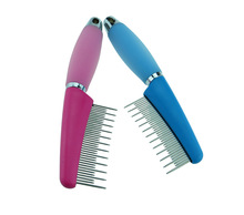 Professional Cat Dog Cleaning Products Pet Long And Short Comb Brush Fur Hair Shedding Trimmerl Comb
