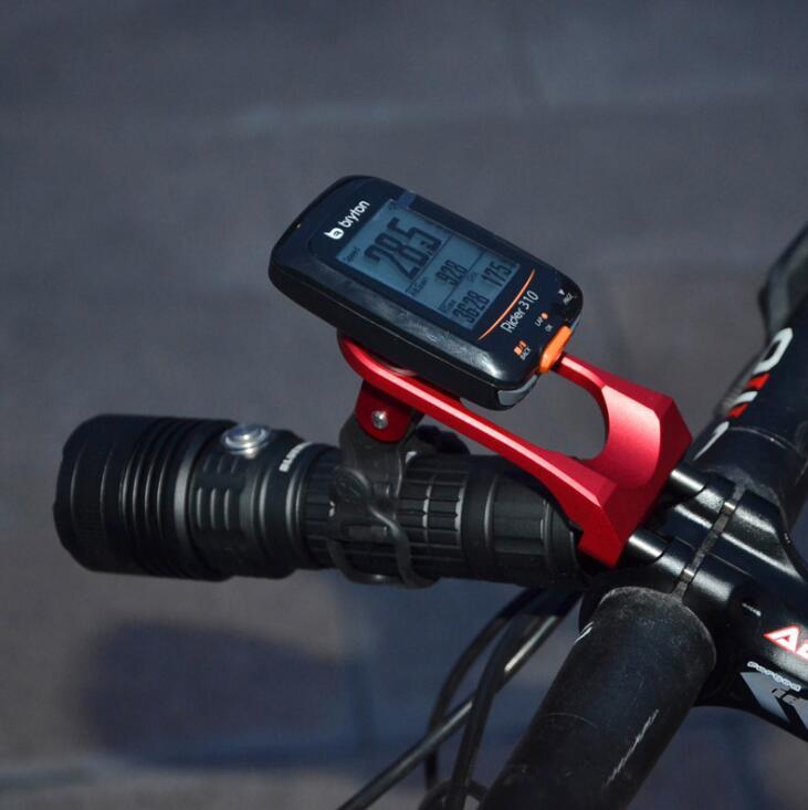 3in1 Bike Stem Extension Mount Holder For Garmin Edge GPS//GoPro Hero//Head Light