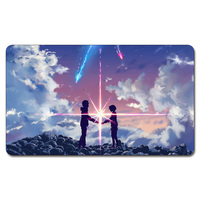 Anime Your Name Playmat 525 Custom Anime Board Games Sexy TouhouPlay Mat Card Games Custom
