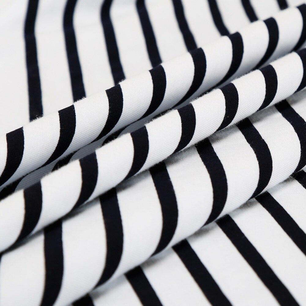 Image 5 - Женские пижамные комплекты, хлопковые шорты с круглым вырезом, полосатые летние пижамы для женщин, 2 штуки, мягкая и удобная домашняя одежда, пижамы-in Комплекты пижам from Нижнее белье и пижамы on AliExpress - 11.11_Double 11_Singles' Day