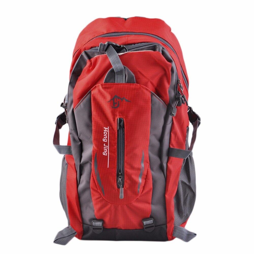 Outdoor Backpack Camping Bag Climbing Rucksack Sports Bags Waterproof Mountaineering Men Women Travel Hiking Cycling Travel