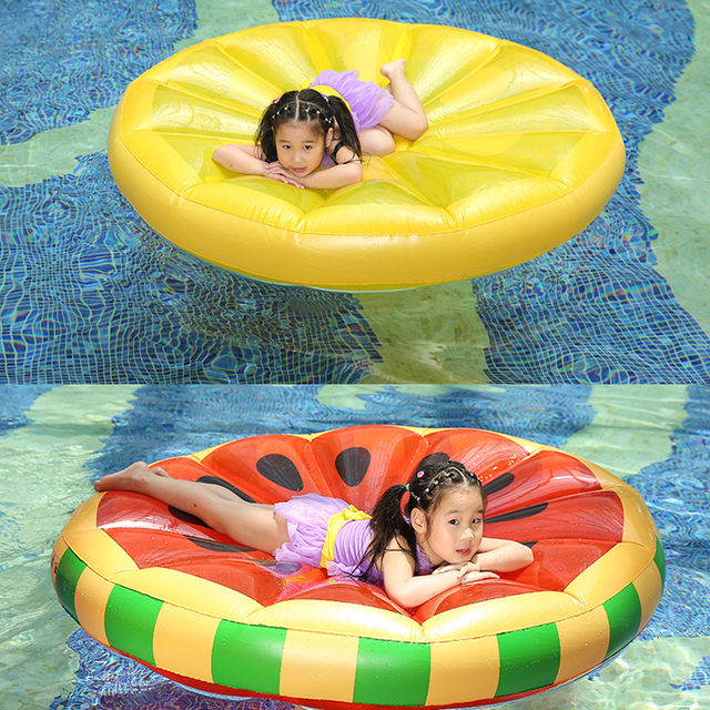 Summer Gigantic Swimming Inflatable Float Bed For Children Adults Watermelon Swimming Floating Equipment Children Kids Beds Toys