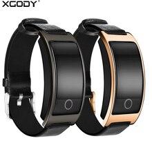(Hot) XGODY CK11S Tętno Inteligentny Zegarek Z Krokomierz Fitness Tracker Bransoletka Ciśnienia Krwi Smartwatch dla Apple Android
