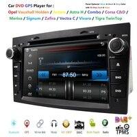 2din 7HD TouchScreen CarDVD Player GPS Navigation System For Opel Zafira B Vectra C D Antara Astra H G Combo SD BT Radio Stereo