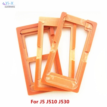 3pcs/lot Glue Mould LCD screen glass Mold Holder for samsung galaxy J5 J510 J530 oca molds for samsung J5 2015 2016 2017 image