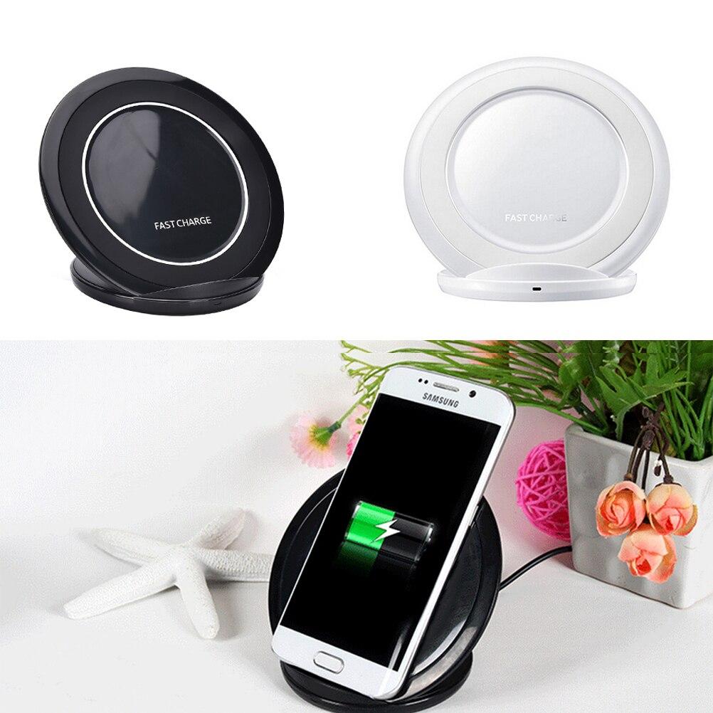 bilder für JETTING Für Samsung Schnelle Drahtlose Ladegerät Lade pad Für Samsung Galaxy S7 rand/S7/S6 rand Plus/hinweis 5 Stand EP-NG930