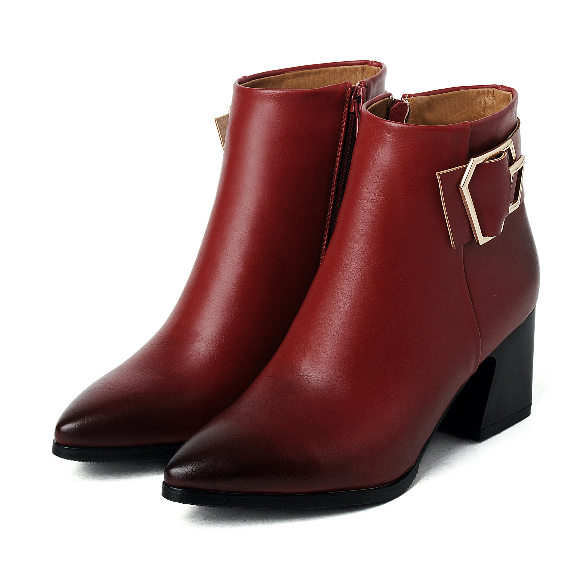 2016fashion winter ankle boots shoes boots