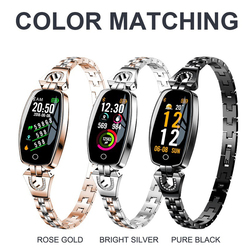 New Heart Rate Monitoring Smart Watches Woman Brand Electronic Watch Waterproof Ladies Bluetooth Watch Synchronous Mobile Phone