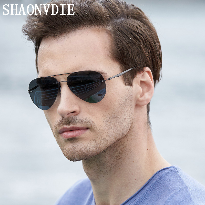 Titanium Polarized Sunglasses Brand Designer Vintage Frog Glasses Ultra light Frame SunGlasses Men and Women Drivers