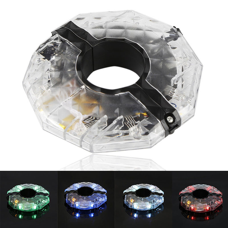 1PCS Colorful Bicycle Hubs Spoke Wheel Light MTB Bike Night Cycling Waterproof Front Tail Warning LED Lamp Bike Accessories