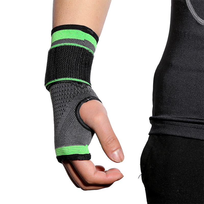 Kyncilor wrist guard for outdoor sports pressure protection wristband knitted adult weight lifting fitness wrist guard in Wrist Support from Sports Entertainment