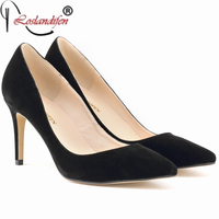 Brand Fashion Women Pumps Red Customized High Heel Shoes For Woman Sexy Party Wedding Zapatos Mujer