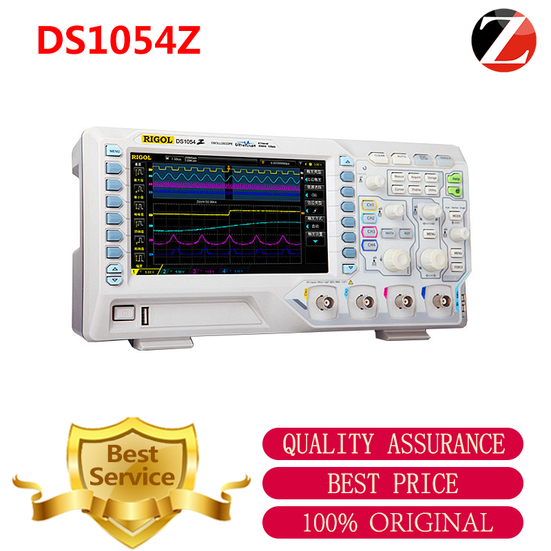 RIGOL DS1054Z 50MHz Bandwidth 4 Channels Memory Depth 12Mpts Std and 24Mpts Opt Memory Depth DS1054Z