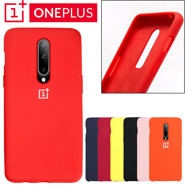 Oneplus 6 Back Case Cover One Plus 6t Soft Liquid Silicon Phone Case Oneplus 7 Pro Ultra Thin Shockproof Full Protectiver Cases