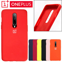 Oneplus 6 Back Case Cover One Plus 6t Soft Liquid Silicon Phone Case Oneplus 7 Pro Ultra Thin Shockproof Full Protectiver Cases(China)