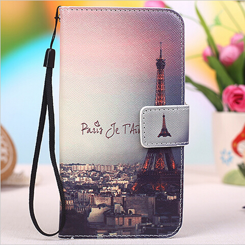 For ZTE Blade A465 Case with Stand Wallet Flip Leather PU Protective Cover Case For ZTE Blade A465 Phone Cover