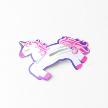 1 Piece Hair Clips for Hair Cute Clip Pins Fruit Animal unicorn Hairpins unicornio Barrette for Baby Children Girls Accessories(China)
