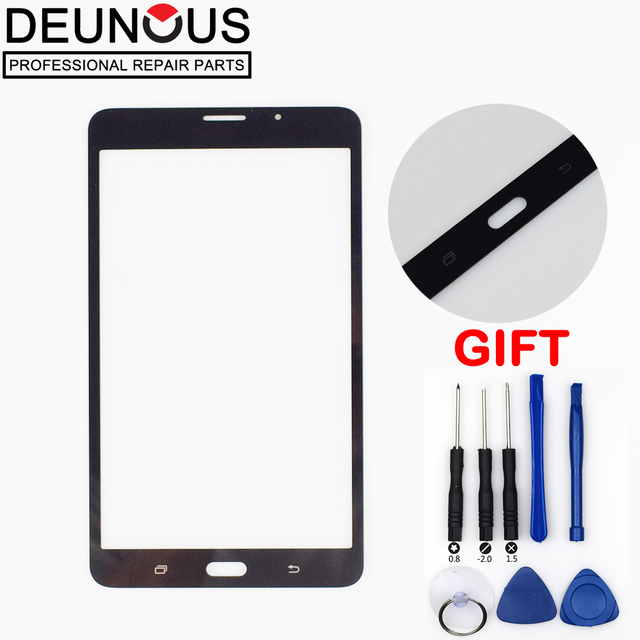 New 7″ for Samsung Galaxy Tab A 2016 SM-T280 SM-T285 T280 T285 Outer Glass Tablet PC Panel Lens Replacement ( not touch screen )